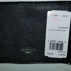 Coach wristlet NEVER USED
